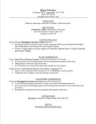 Resume Templates For Teens Teen Examples Teenage