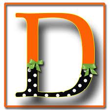 D Letter Names