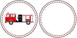 100 Fire Truck Cupcake Toppers Birthday Party With FREE Printables How To Nest For Less