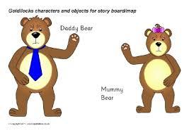 Goldilocks The Three Bears Teaching Resources Story Sack