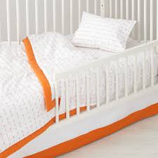 Arrow Crib Bedding by Iconic Toddler Bedding Arrow The Land Of Nod