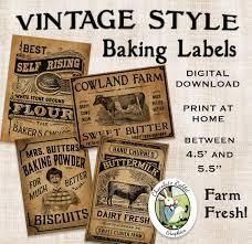 Kitchen Clipart Label 6