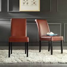 Cheap Leather Parsons Chairs by Furniture Interesting Parson Chairs For Modern Dining Room Design