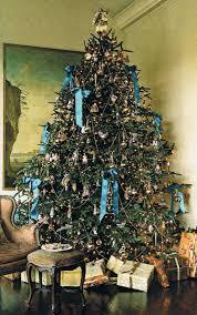 Tannenbaum Christmas Tree Farm Michigan by Green Christmas Tree Decorating Ideas Habitually Chic Blue