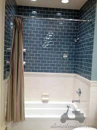 black and grey glass tile backsplash bathrooms design black tile