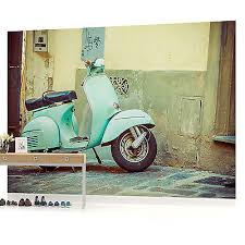 Vintage Vespa Art Picture Wall Mural Photo Wallpaper W1087ve Ve