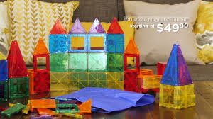 Picasso Tiles Magnetic Building Blocks by Best Choice Products U0027 Building Magnetic Tile Set Youtube