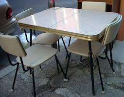 Retro 60s Kitchen Table 4 Chairs