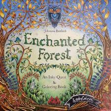 542 Best Coloring Book Enchanted Forest Images On Pinterest