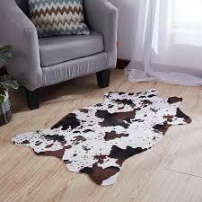 nachahmung milch kuh zebra haut matte schlafzimmer nacht teppich anti slip teppich für wohnzimmer sofa kaffee tisch dekoration