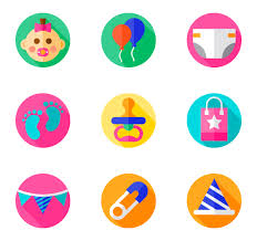 Baby Shower Logo by Shower Icons 462 Free Vector Icons