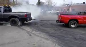 Chevy 3500 VS Ford F-350! Best Tug Of War Of All Time? | Diesel And ...