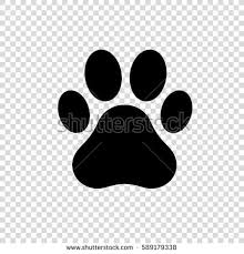 Paw clipart no background collection