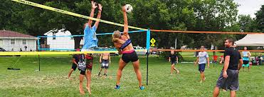 Volleyball's Number 1 Rated Outdoor Grass And Beach Volleyball ... Grass Court Cstruction Outdoor Voeyball Systems Image On Remarkable Backyard Serious Net System Youtube How To Construct A Indoor Beach Blog Leagues Tournaments Vs Sand Sports Imports In Central Park Baden Champions Set Gold Medal Pro Power Amazing Unique Series And Badminton Dicks
