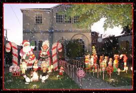 Christmas Tree Lane Alameda 2014 by Santa Claus Has Come To Christmas Tree Lane In Alameda