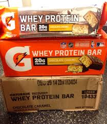 Gatorade Recover Whey Protein Bar Choc Caramel Meal Replacement FREE SHIPPING