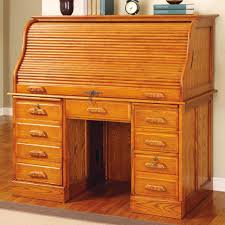 Secretary Desk With Hutch Plans by Furniture Gorgeous Rolltop Computer Desk History With Old Wood