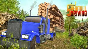 Sawmill Simulator - Forest Truck Driving Game - Free Download Of ...