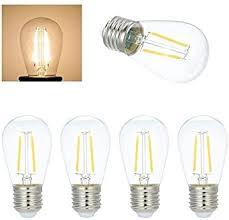 led glühbirnen e27 dimmbare tomshine warmweiß 4 stück für lichterkette hause wohnzimmer esszimmer restaurant
