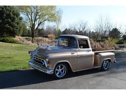 1957 Chevrolet 3100 For Sale | ClassicCars.com | CC-894356 1957 Chevytruck Chevrolet Truck Ct7578c Desert Valley Auto Parts 3100 12 Ton Pickup Truck Custom Trucks For Sale Near Lavergne Tennessee 37086 4x4 Truckss Napco 4x4 Trucks For Sale Chevy Swb The Hamb A Cameo Appearance Pick Up Rare Apache Shortbed Stepside Original V8 Cab Big Ls Powered Dp Chevy Right Rear Angle Fords Answer To Short Bed Cool Diesel In Northwest Indiana Elegant