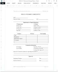 Payroll Change Form Template 8 Notice Monster Logo Personnel Employee Tree Fresh