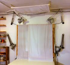 Making A Swing Arm Curtain Rod by How To Make Your Own Set Up For Photographing Pottery Pottery