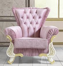 casa padrino barock sessel rosa weiß gold 97 x 85 x h 105 cm barockstil wohnzimmer sessel mit glitzersteinen barock möbel