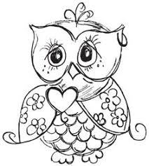 Inspiration Graphic Owl Coloring Pages For Kids