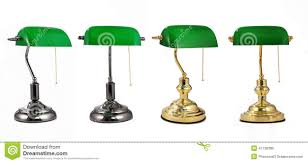 Bankers Lamp Shade Only by Energy Saving Lamp Green Classic Banker Desk Lamp Table Lamp