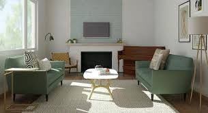 Front Room Furniture A Living Room That A Reporter Redesigned With