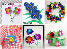15 DIY Flower Crafts For Kids