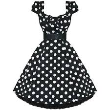 Dress Clipart 50s 6