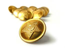set vintage gold buttons set military buttons soviet army buttons