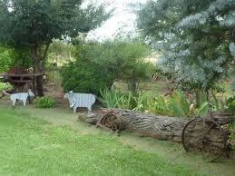 Corrugated Iron Garden Sculptures