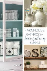19 Amazing DIY Farmhouse Bathroom Decorating Ideas | Hunny I'm Home Master Bathroom Decorating Ideas Tour On A Budgethome Awesome Photos Of Small For Style Idea Unique Modern Shower Design Pinterest The 10 Bathrooms With Beadboard Wascoting For Blueandwhite Traditional Home 32 Best And Decorations 2019 25 Tips Bath Crashers Diy Cute Storage Decoration 20 Mashoid Decor Designs 18 Bathroom Wall Decorating Ideas