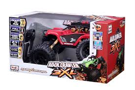 100 Rock Crawler Rc Trucks Maisto RC Monster Truck 3XL Red Toy At Mighty