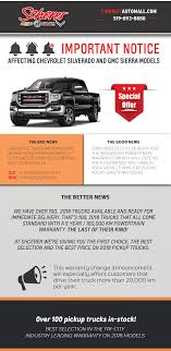 Important Truck Warranty News - Scherer Chevrolet Buick GMC Ltd. Tesla Semis Strong Demand Could Expedite The Release Of Pickup Hyundai Trucks News Archives Heavy Vehicles Hd Truck Lug Nuts September 2012 Photo Image Gallery 2019 The Year Truck Thefencepostcom Driver Shortage Is Good News For This Chicagoarea Company 2017 State Fair Texas Carscom Ploughs Into Building Collides With Cars On Queen St Dallas Food Sigels And Virgin Olive Will Pair Wine Video Dump Catches Fire In Abbotsford Chilliwack Progress Jeep Secrets Revealed New Will Debut November 28 Fox Trucking Hemmings Motor