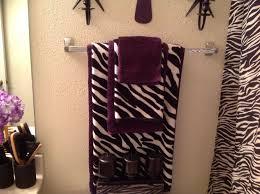 zebra bathroom purple zebra bathroom decor tsc