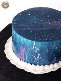 Zuckerblumen Selber Spritzen Anleitung Was Galaktische Weltraum Torte Mit Mirror Glaze Und
