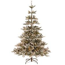 7ft Slim Artificial Christmas Tree by Pre Lit Artificial Christmas Trees Christmas Trees The Home