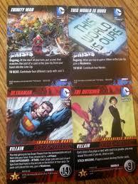 taco s take on dc comics deck building game crisis 3 expansion