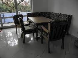 esszimmer im landhausstil eiche massiv eckbank tisch stühle