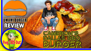 Umami Burger® | Cameron's Dallas BBQ Burger Review! Peep THIS Out ... Umami Burger Thrghout Us The Mindy Episodic Eater Food Truck Moto Photo Image Documentary Journalism Nyc Review Burgers New Menu Items Oc Foodies Tyme Adam Fleischman Wants To Open 150 Locations In Five Years Oasthouse And Boiler Nines More Am Intel Gourmet Pigs Now Pasadena California More Throwback