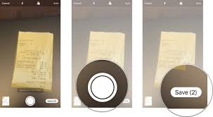 How to use the document scanner on iPhone and iPad