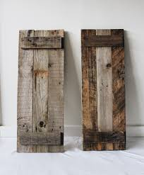 These Shutters Are Made Out Of Recycled Pallet Wood And Weathered ... Top 10 Interior Window Shutter 2017 Ward Log Homes Decorative Mirror With Sliding Barn Style Wood Rustic Shutters Best 25 Barnwood Doors Ideas On Pinterest Barn 2 Reclaimed 14 X 37 Whitewashed 5500 Via Rustic Gallery Wall Fixer Upper Door Modern Small Country Cottage With Wooden In The Kapandate Eifler Entry Gate Porter Remodelaholic Build From Pallets Rustic Wood Wall Decor Roselawnlutheran Flower Sign Xl Distressed