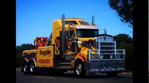 Slideshow Of Australian Kenworth Heavy Tow Trucks - YouTube