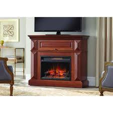 Decor Flame Infrared Electric Stove by Home Decorators Collection Coleridge 42 In Mantel Console