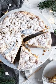 winter wunderland apfelkuchen