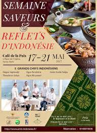 cuisine indonesienne ambassade d indonésie on cuisine indonésienne à