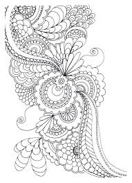 Free Printable Flower Mandala Coloring Pages Power Spring Pictures Page Adult Zen Anti Stress Print Drawing